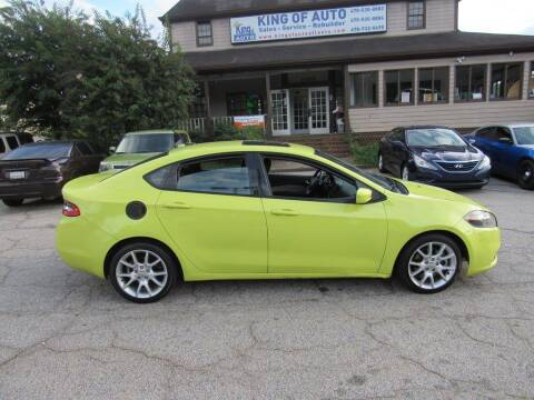 2013 Dodge Dart for sale at King of Auto in Stone Mountain GA