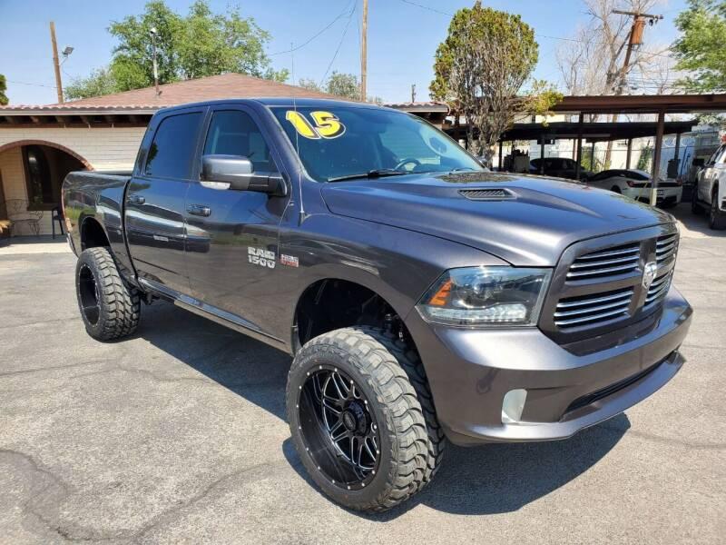 2015 RAM Ram Pickup 1500 for sale at FRANCIA MOTORS in El Paso TX