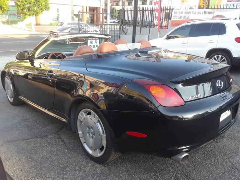 2002 Lexus SC 430 for sale at Western Motors Inc in Los Angeles CA