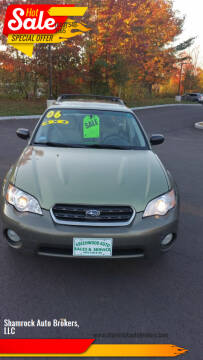 2006 Subaru Outback for sale at Shamrock Auto Brokers, LLC in Belmont NH