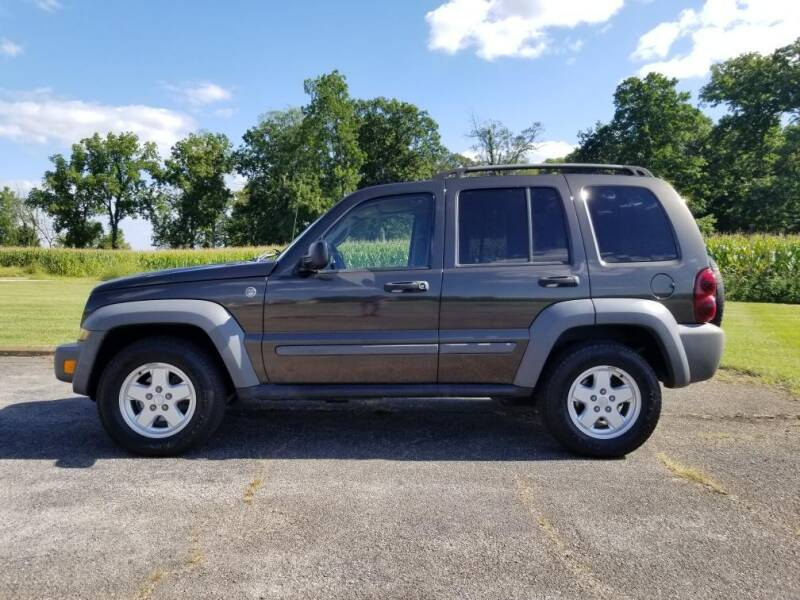 2005 Jeep Liberty for sale at All American Auto Brokers in Anderson IN