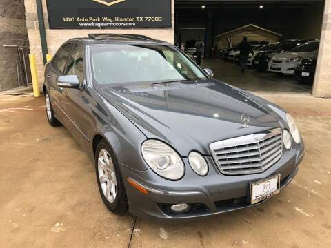 2008 Mercedes-Benz E-Class for sale at KAYALAR MOTORS Mechanic in Houston TX