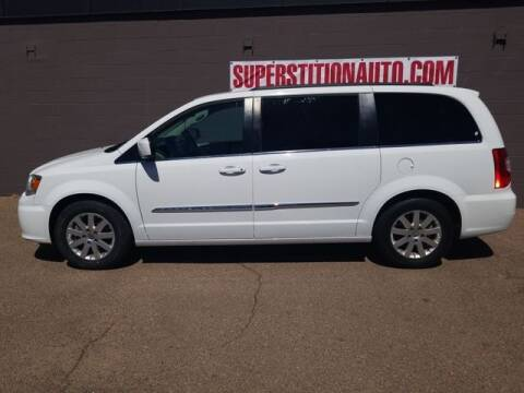 2016 Chrysler Town and Country for sale at Superstition Auto in Mesa AZ