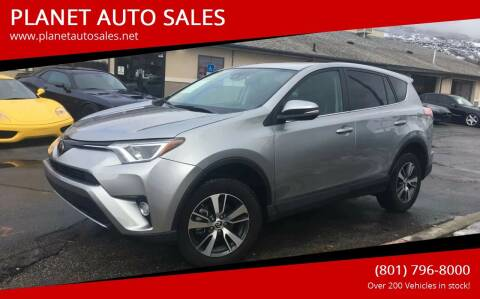 2018 Toyota RAV4 for sale at PLANET AUTO SALES in Lindon UT