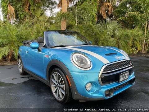 2018 MINI Convertible for sale at Autohaus of Naples in Naples FL