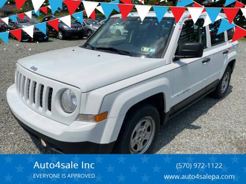 2013 Jeep Patriot for sale at Auto4sale Inc in Mount Pocono PA