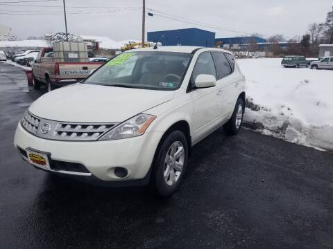 2007 Nissan Murano for sale at Credit Connection Auto Sales Inc. CARLISLE in Carlisle PA