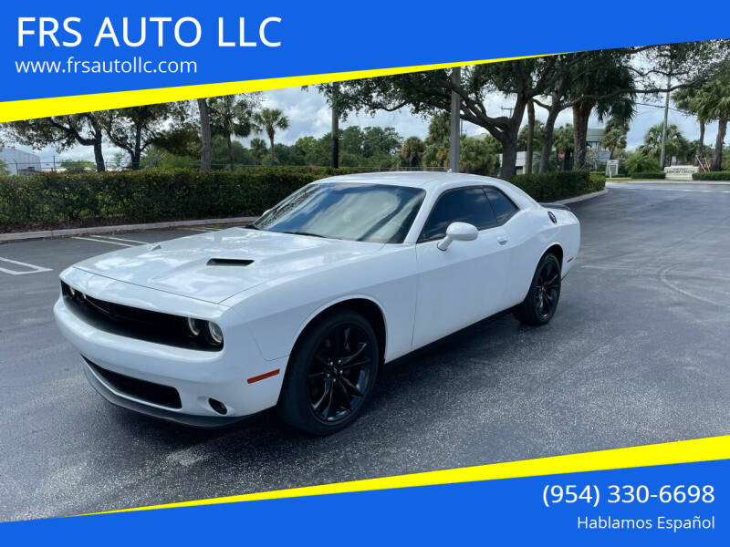 2017 Dodge Challenger for sale at FRS AUTO LLC in West Palm Beach FL