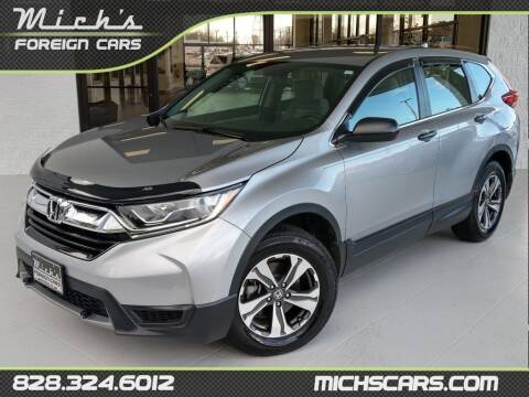 2019 Honda CR-V for sale at Mich's Foreign Cars in Hickory NC