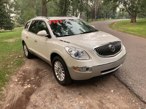 2012 Buick Enclave for sale at BELOW BOOK AUTO SALES in Idaho Falls ID