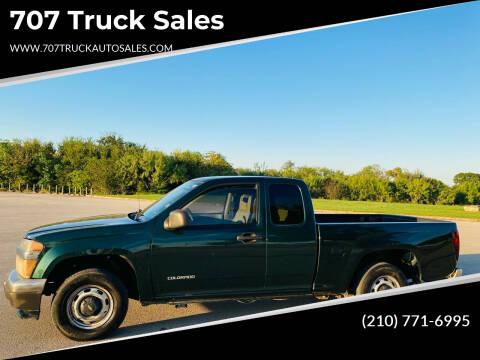 2004 Chevrolet Colorado for sale at 707 Truck Sales in San Antonio TX