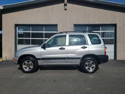 2002 Chevrolet Tracker for sale at Westside Motors in Mount Vernon WA