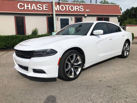 2015 Dodge Charger for sale at Chase Motors Inc in Stafford TX