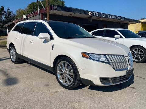 2011 Lincoln MKT for sale at Texas Luxury Auto in Houston TX