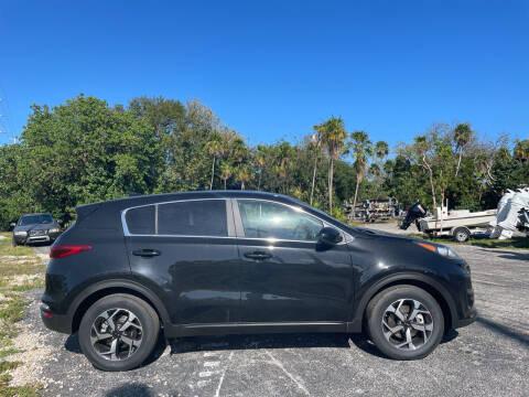 2021 Kia Sportage for sale at Key West Kia - Wellings Automotive & Suzuki Marine in Marathon FL