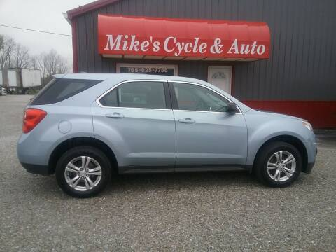 2014 Chevrolet Equinox for sale at MIKE'S CYCLE & AUTO in Connersville IN
