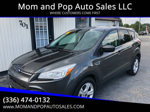 2016 Ford Escape for sale at Mom and Pop Auto Sales LLC in Thomasville NC