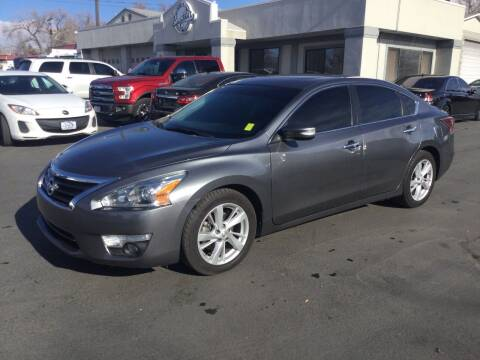 2015 Nissan Altima for sale at Beutler Auto Sales in Clearfield UT