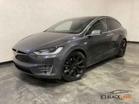 2016 Tesla Model X for sale at BLACK LABEL AUTO FIRM in Riverside CA
