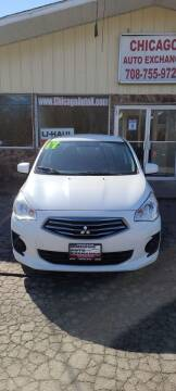 2017 Mitsubishi Mirage G4 for sale at Chicago Auto Exchange in South Chicago Heights IL