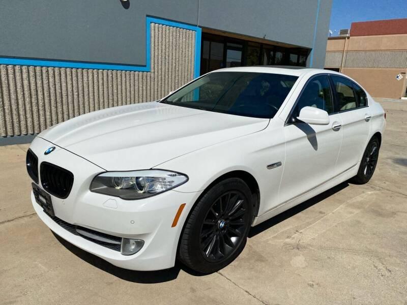 2012 BMW 5 Series for sale at 7 Auto Group in Anaheim CA