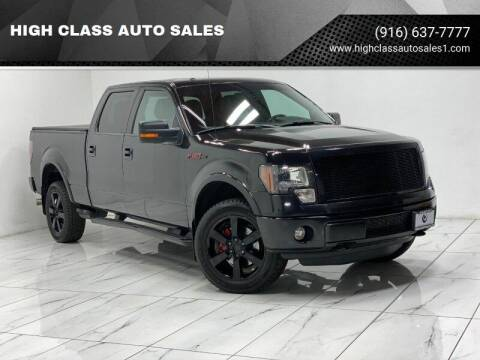 2012 Ford F-150 for sale at HIGH CLASS AUTO SALES in Rancho Cordova CA