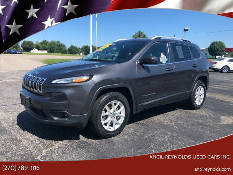2017 Jeep Cherokee for sale at Ancil Reynolds Used Cars Inc. in Campbellsville KY