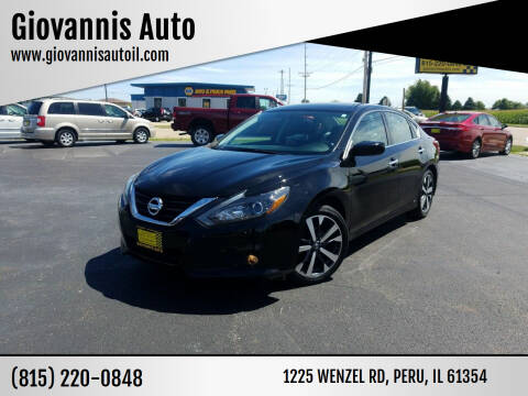 2017 Nissan Altima for sale at Giovannis Auto in Peru IL