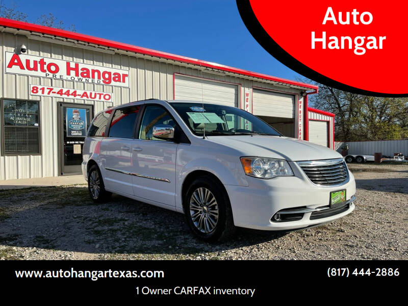 2014 Chrysler Town and Country for sale at Auto Hangar in Azle TX
