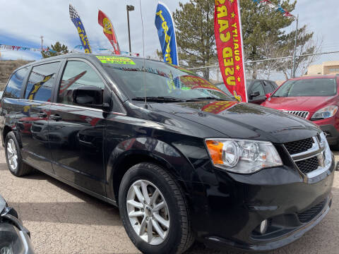 2019 Dodge Grand Caravan for sale at Duke City Auto LLC in Gallup NM