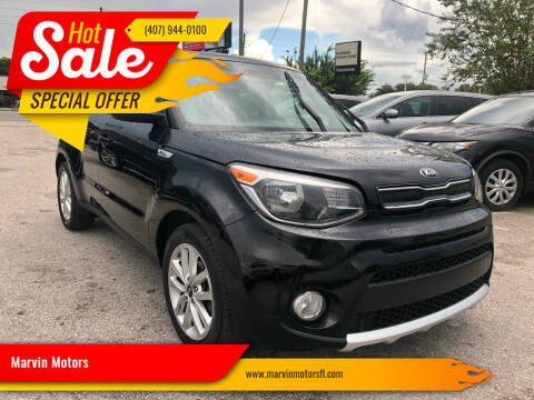 2018 Kia Soul for sale at Marvin Motors in Kissimmee FL