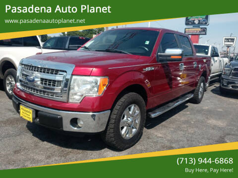 2013 Ford F-150 for sale at Pasadena Auto Planet in Houston TX
