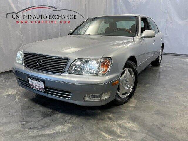 1998 Lexus LS 400 for sale at United Auto Exchange in Addison IL