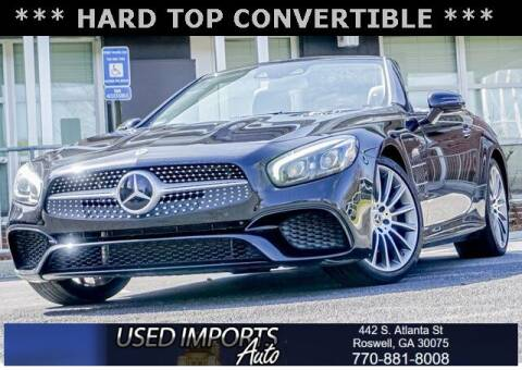 2018 Mercedes-Benz SL-Class for sale at Used Imports Auto in Roswell GA