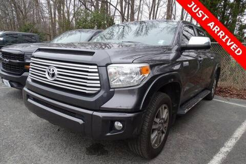 2016 Toyota Tundra for sale at Brandon Reeves Auto World in Monroe NC