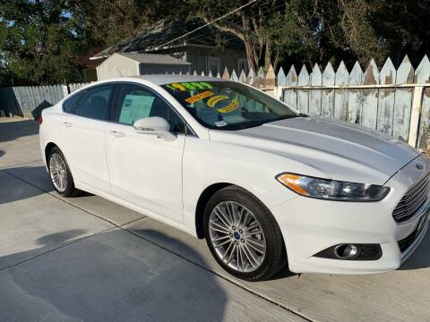 2013 Ford Fusion for sale at Integrity Motorz, LLC in Tracy CA