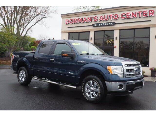2013 Ford F-150 for sale at DORMANS AUTO CENTER OF SEEKONK in Seekonk MA