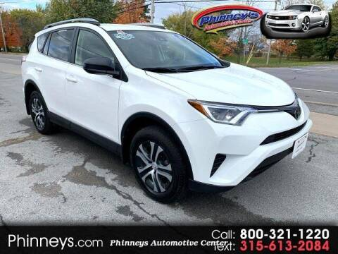 2018 Toyota RAV4 for sale at Phinney's Automotive Center in Clayton NY