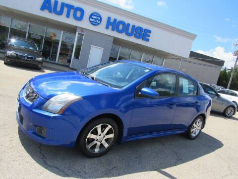 2012 Nissan Sentra for sale at Auto House Motors in Downers Grove IL