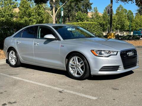 2012 Audi A6 for sale at CARFORNIA SOLUTIONS in Hayward CA