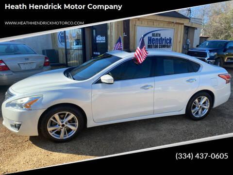 2013 Nissan Altima for sale at Heath Hendrick Motor Company in Greenville AL