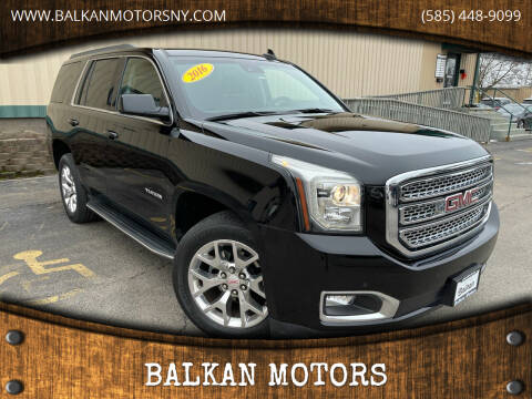 2016 GMC Yukon for sale at BALKAN MOTORS in East Rochester NY