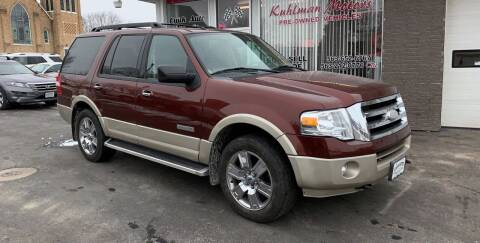 2008 Ford Expedition for sale at KUHLMAN MOTORS in Maquoketa IA