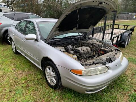 2002 Oldsmobile Alero for sale at AUTO WOODLANDS in Magnolia TX
