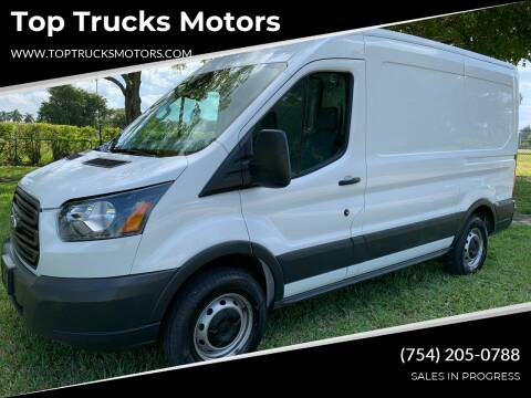 2018 Ford Transit Cargo for sale at Top Trucks Motors in Pompano Beach FL