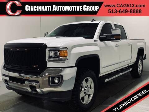 2015 GMC Sierra 2500HD for sale at Cincinnati Automotive Group in Lebanon OH