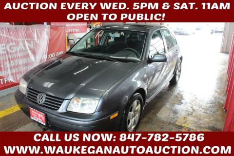 2003 Volkswagen Jetta for sale at Waukegan Auto Auction in Waukegan IL