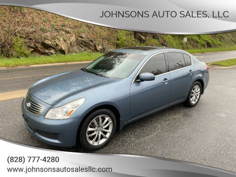 2008 Infiniti G35 for sale at Johnsons Auto Sales, LLC in Marshall NC