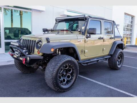 2013 Jeep Wrangler Unlimited for sale at REVEURO in Las Vegas NV