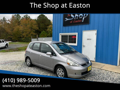 2007 Honda Fit for sale at The Shop at Easton in Easton MD